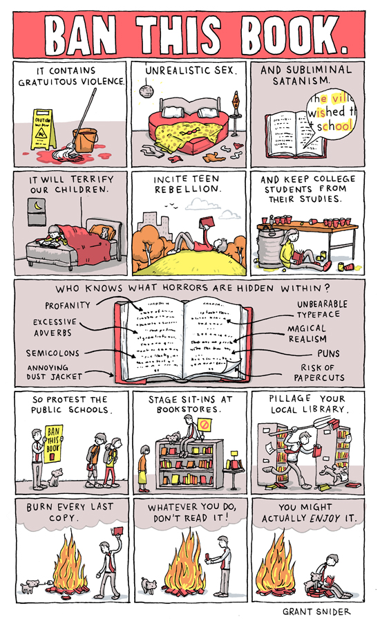 Ban This Book by Incidental Comics